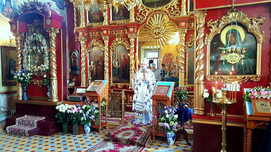 икона Богородицы Калужская в Борятинском монастыре