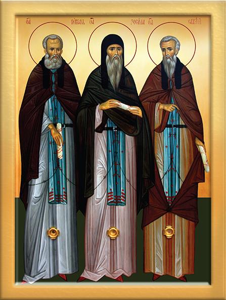 икона святых Соловецких чудотворцев